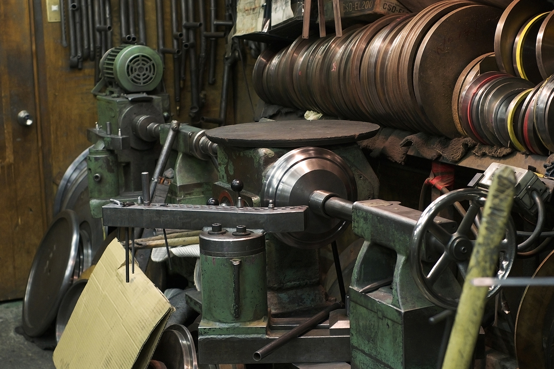 1 - ヘラ絞り Metal spinning